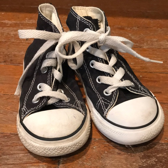 dd6680021a795c Converse Other - Black toddler Converse Chucks hi top  FLASH SALE